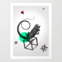 Zoologica Serie: Ambition Art Print
