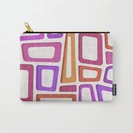 Tiki Mid Century Abstract Carry-All Pouch