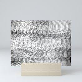 Multiplied Parallel Lines No.: 02. Mini Art Print