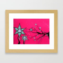 Wistful Desires Framed Art Print