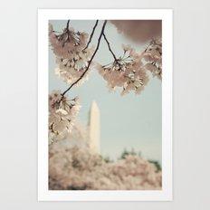 Spring in DC II Art Print