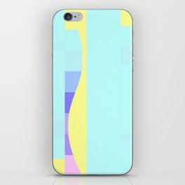 Teal Me About It iPhone Skin