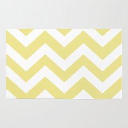 Green-yellow (Crayola) - beije color - Zigzag Chevron Pattern Rug