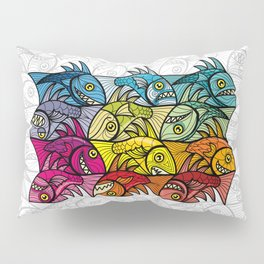 EscherFishes Pillow Sham