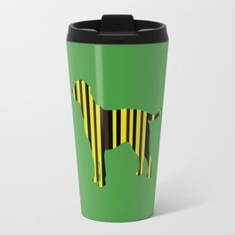 All the Lab Colors, stripes Travel Mug