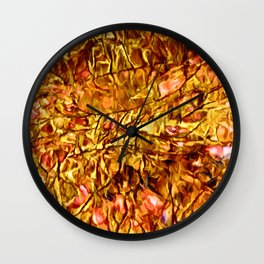 Coral Accents Stonescape Wall Clock