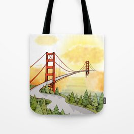 San Francisco Horizon Tote Bag