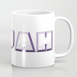 """""""ELIJAH"""" first name purple pattern Coffee Mug"""