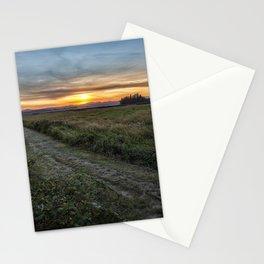 Sunset at Fern Ridge Wildlife Area Stationery Cards