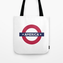 The Transatlantic Line Tote Bag