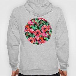 Plenty of Poppies - black Hoody