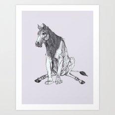The Leucrota Art Print