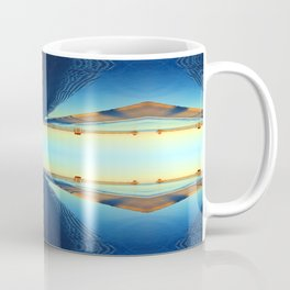 Under Naples Pier Photographic Pattern #1 Coffee Mug