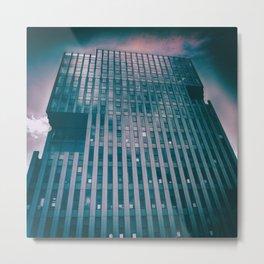 street photo CORPORATION #street #streetphoto Metal Print
