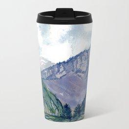 Violet Peaks Travel Mug