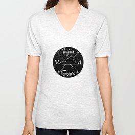 Virginia Grown VA Unisex V-Neck