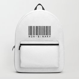 NONBINARY BARCODE Backpack