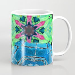 Colorful mandalas - Cold play Coffee Mug