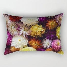 Dahlia Mix Rectangular Pillow