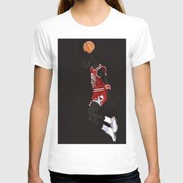 THE GREATEST BASKETBALL PLAYER - JORDAN POSTER AND ARTWORK T-shirt