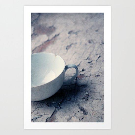 white cup Art Print