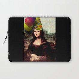 Mona Lisa Birthday Girl Laptop Sleeve