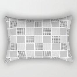 carreaux checked fabric design Rectangular Pillow