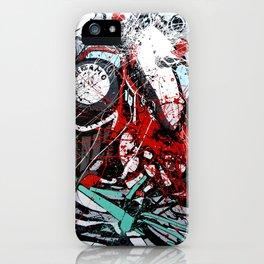 Atto di colore #4 iPhone Case