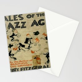 Tales of the Jazz Age vintage book cover - Fitzgerald Stationery Cards