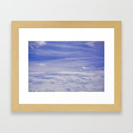 Cloudy Heaven Framed Art Print