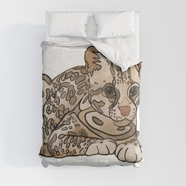 You Mean an Ocelot to Me Comforters