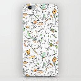 Here Kitty Kitty iPhone Skin