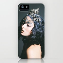 Queen, Oh Thumbelina - Dark Fashion Print iPhone Case