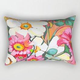 Yellow Gerbera Rectangular Pillow