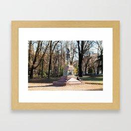 Sepmione Park Framed Art Print