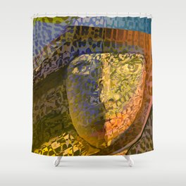Animal Print Monica Shower Curtain