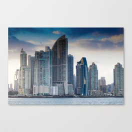 Trump Tower in Panama City Canvas Print