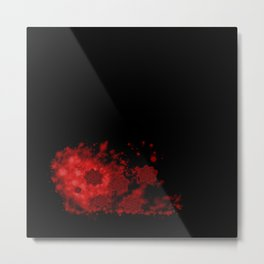 Blood Roses Metal Print