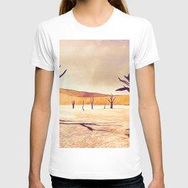 deadvlei desert trees acrls T-shirt