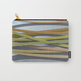 ribbon paper background yellow Carry-All Pouch