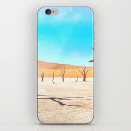 deadvlei desert trees acrstd iPhone Skin