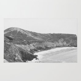 CALIFORNIA COAST VII / Mori Point, CA Rug