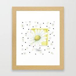 Daisyflower Framed Art Print