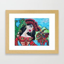 A Pirates Quest For The Skittled Dragon Framed Art Print