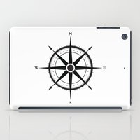 compass iPad Cases featuring Compass by Sofie Luyckx