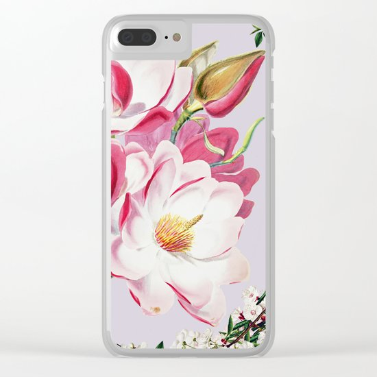 More flowering Clear iPhone Case