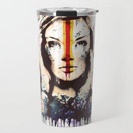 Drips of color Travel Mug
