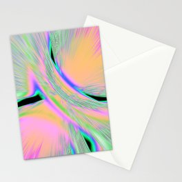 Re-Created  Aurora XI by Robert S. Lee Stationery Cards