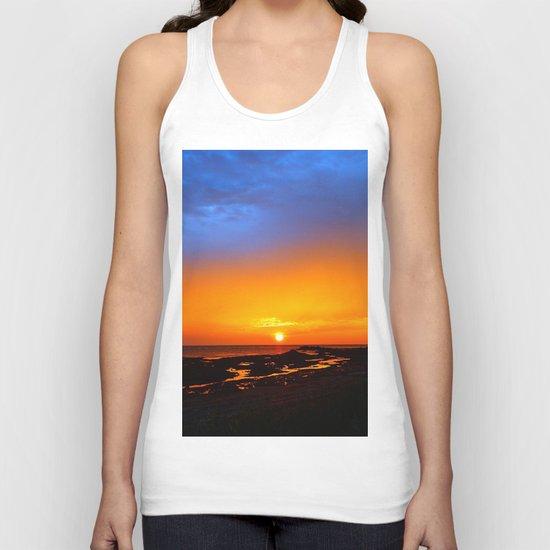 Sunrise on the Beach Unisex Tank Top