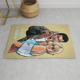 Tarantino True Romance: Clarence & Alabama Rug